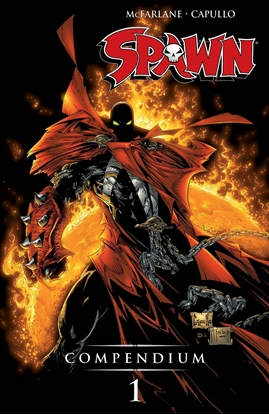 Picture of SPAWN COMPENDIUM TP VOL 1 (NEW EDITION) (MR) / DAMAGED