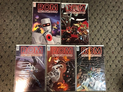 Picture of ROM & THE MICRONAUTS (2017) #1 2 3 4 5 / 1ST PRINT SET / IDW NM