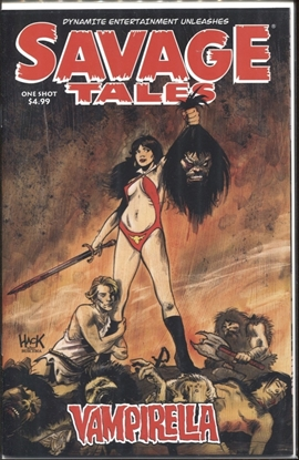 Picture of SAVAGE TALES VAMPIRELLA ONE SHOT #1