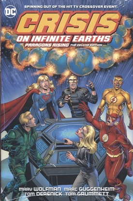 Picture of CRISIS ON INFINITE EARTHS PARAGONS RISING DLX ED HC
