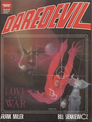 Picture of MARVEL GRAPHIC NOVEL #24 DAREDEVIL VF