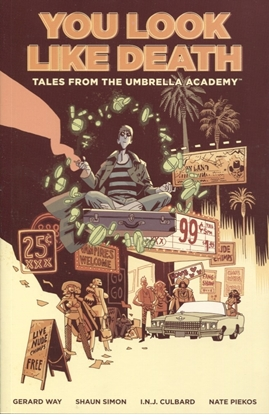 Picture of TALES FROM UMBRELLA ACADEMY TP VOL 1 YOU LOOK LIKE DEATH