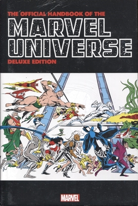 Picture of OFFICIAL HANDBOOK MARVEL UNIVERSE DLX ED OMNIBUS HC FRENZ DM