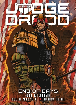 Picture of JUDGE DREDD END OF DAYS TP