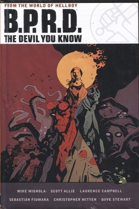 Picture of BPRD DEVIL YOU KNOW OMNIBUS HC