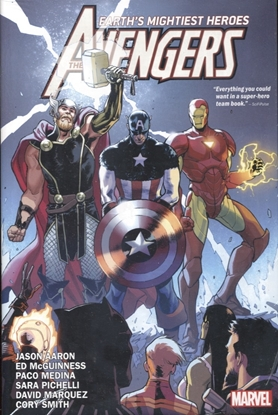 Picture of AVENGERS BY JASON AARON HC VOL 1