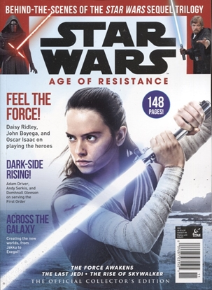 Picture of STAR WARS AGE RESISTANCE OFF COLL ED NEWSSTAND