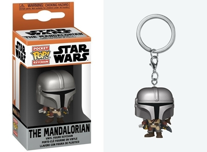 Picture of FUNKO POCKET POP KEYCHAIN STAR WARS THE MADALORIAN NEW
