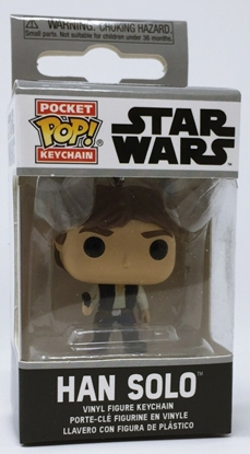 Picture of FUNKO POCKET POP KEYCHAIN STAR WARS HAN SOLO NEW