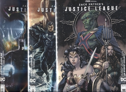 Picture of JUSTICE LEAGUE #59 / COVER A, B, C VARIANT SET / ZACK SNYDER'S CUT NM