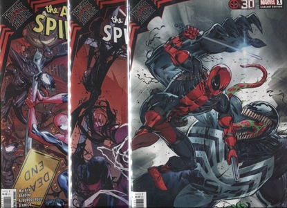 Picture of AMAZING SPIDER-MAN KING IN BLACK #1 / COVER A B C SET