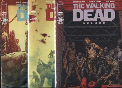 Picture of WALKING DEAD DELUXE #11 COVER A B C SET