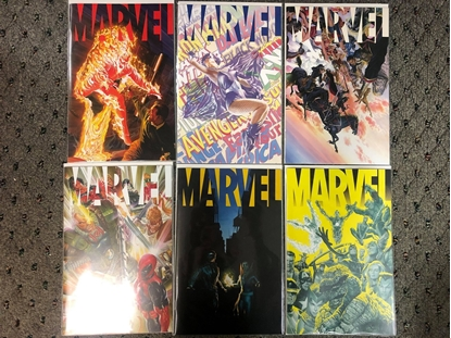 Picture of MARVEL (2020) #1 2 3 4 5 6 / ALEX ROSS 1ST PRINT SET NM