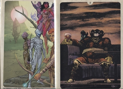 Picture of SEVEN TO ETERNITY #7 / COVER A & B VARIANT SET / REMENDER-OPENA NM