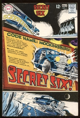 Picture of SECRET SIX (1968) #1 7.0 FN/VF