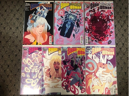 Picture of SHADE THE CHANGING WOMAN #1 2 3 4 5 6 / COVER A & B VARIANT SET NM