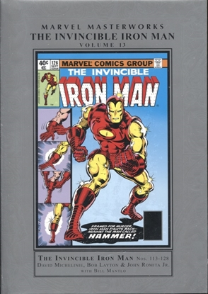 Picture of MMW INVINCIBLE IRON MAN HC VOL 13