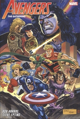 Picture of AVENGERS GATHERING OMNIBUS HC DM VARIANT