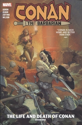 Picture of CONAN THE BARBARIAN VOLUME 1 & 2 + JIM ZUB VOL 1 TPB SET/ LIFE AND DEATH OF CONAN / REPS #1-18 2019