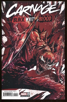 Picture of CARNAGE BLACK WHITE AND BLOOD #1 (OF 4) CHECCHETTO VAR