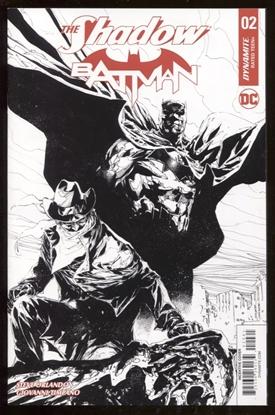 Picture of SHADOW BATMAN #2 (OF 6) CVR F 10 COPY TAN B&W INCV (NET)