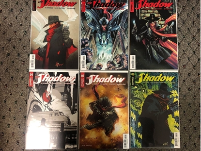 Picture of THE SHADOW VOLUME 3 #1 2 3 4 5 6 / COVER A 1ST PRINT SET DYNAMITE NM
