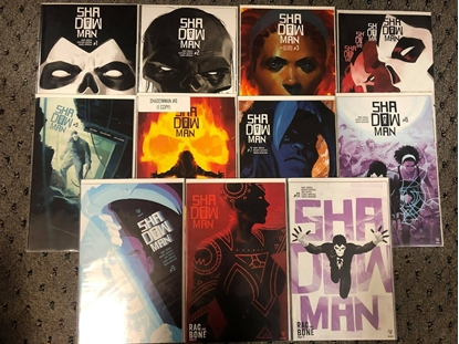 Picture of SHADOWMAN (2018) #1 2 3 4 5 6 7 8 9 10 11 / DIGGLE VALIANT NM SET