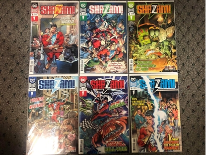 Picture of SHAZAM (2019) #1 2 3 4 5 6 / COVER A 1ST PRINT SET / GEOFF JOHNS