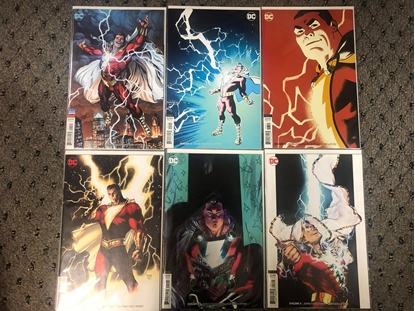 Picture of SHAZAM (2019) #1 2 3 4 5 6 / COVER B VARIANT SET / GEOFF JOHNS