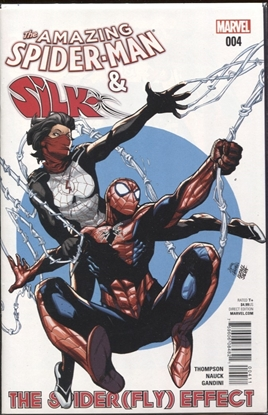Picture of AMAZING SPIDER-MAN AND SILK SPIDERFLY EFFECT #4 (OF 4)