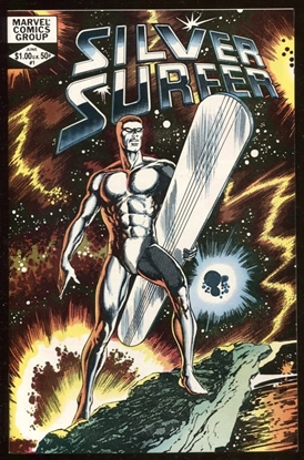 Picture of SILVER SURFER (1982) #1 9.4 NM