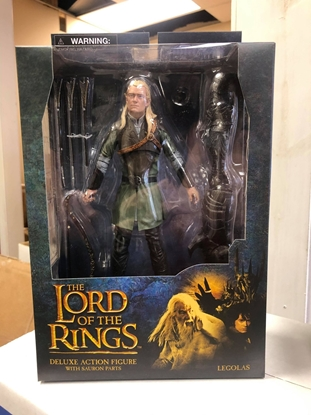 Picture of LORD OF THE RINGS LEGOLAS DELUXE ACTION FIGURE WITH SAURON PARTS