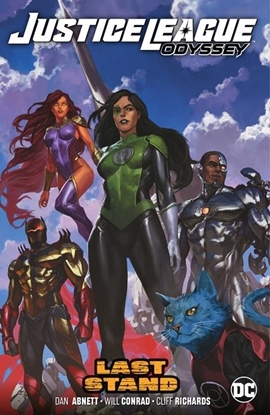 Picture of JUSTICE LEAGUE ODYSSEY VOL 4 LAST STAND TP