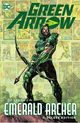 Picture of GREEN ARROW 80 YEARS OF THE EMERALD ARCHER THE DELUXE EDITION HC