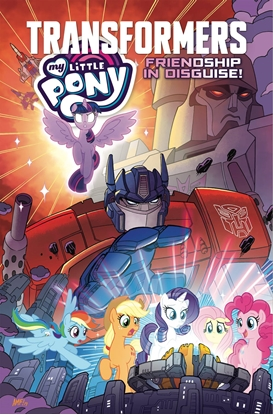 Picture of MY LITTLE PONY TRANSFORMERS TP FRIENDSHIP IN DISGUISE