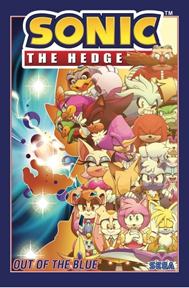 Picture of SONIC THE HEDGEHOG TP VOL 8 OUT OF BLUE