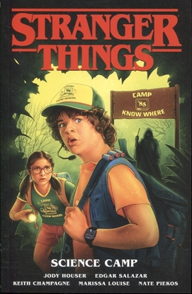 Picture of STRANGER THINGS TP VOL 4 SCIENCE CAMP