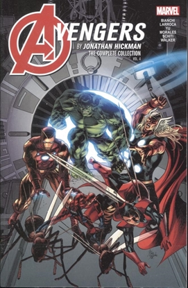 Picture of AVENGERS BY HICKMAN COMPLETE COLLECTION TP VOL 4