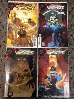 Picture of KING IN BLACK: RETURN OF THE VALKYRIES #1 2 3 4 / 1ST PRINT SET NM