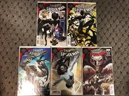 Picture of KING IN BLACK: SYMBIOTE SPIDER-MAN #1 2 3 4 5 / 1ST PRINT SET NM