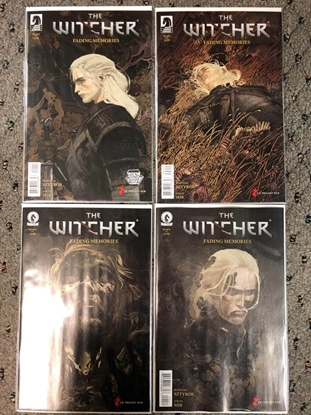 Picture of WITCHER FADING MEMORIES #1 2 3 4 / 1ST PRINT SET / DARK HORSE NM