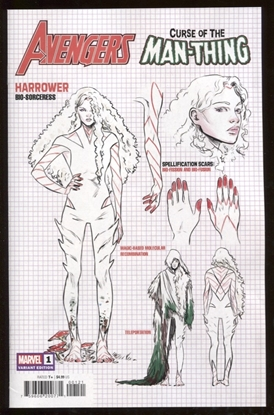 Picture of AVENGERS CURSE MAN-THING #1 CARNERO DESIGN VAR