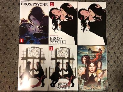 Picture of MARIA LLOVETS EROS PSYCHE #1 / COVER A B C D E F / MIRKA ANDOLFO VARIANT SET NM