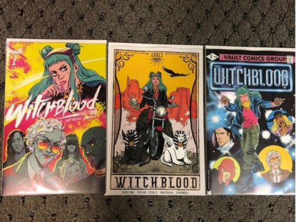 Picture of WITCHBLOOD #1 / COVER A B C VARIANT SET / VAULT COMICS 2021