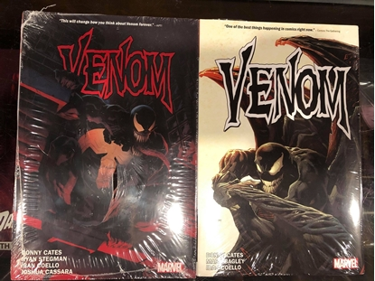 Picture of VENOM BY CATES VOLUME 1 & 2 HARDCOVER SET / NEW-SEALED