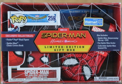 Picture of MARVEL SPIDER-MAN HOMECOMING LIMITED EDITION WALMART EXCLUSIVE BOX SET NEW