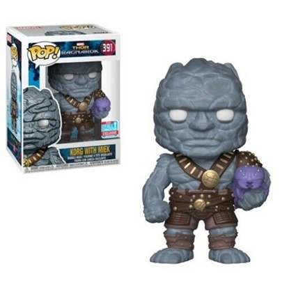 Picture of FUNKO POP THOR RAGNAROK KORG W/MIEK #391 2018 FALL CONVENTION EXCLUSIVE