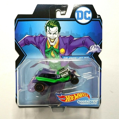 Picture of HOT WHEELS CHARACTER CARS THE JOKER HOT ROD NEW