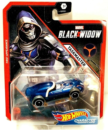 Picture of HOT WHEELS CHARACTER CARS BLACK WIDOW- TASKMASTER NEW