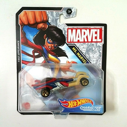 Picture of HOT WHEELS CHARACTER CARS MS. MARVEL NEW